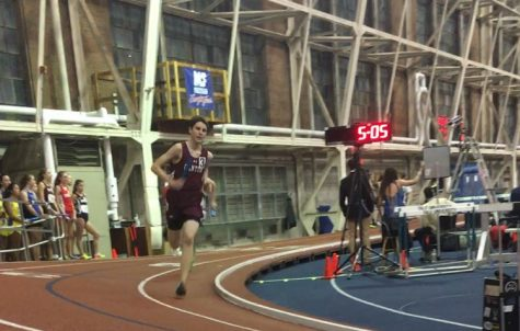 Canton Indoor Track Athletes Compete at Yale University