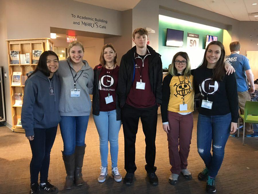 CHS Team Competes in Ocean Science Bowl