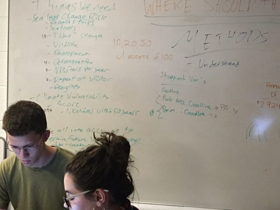 Students in Math Challenge Study Climate Change