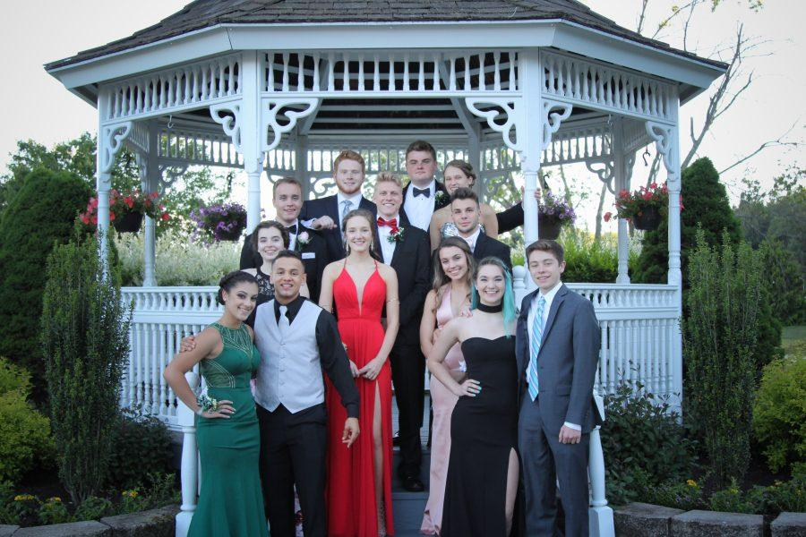 senior prom - fun for all classes - photograph by Tim Biondo