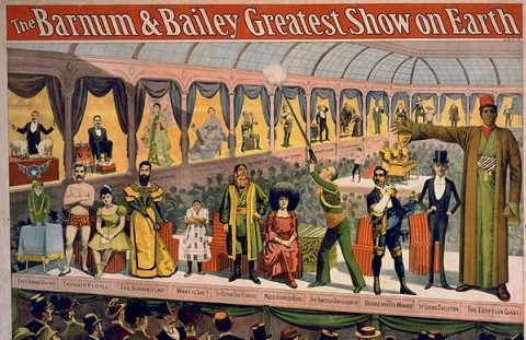 Barnum & Bailey Poster 1898-1899 - Image by Ddicksson - CC2 license