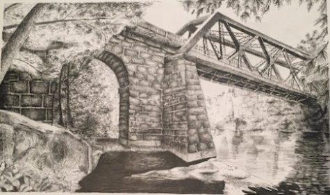 Collinsville bridge by Rachel Tarinelli