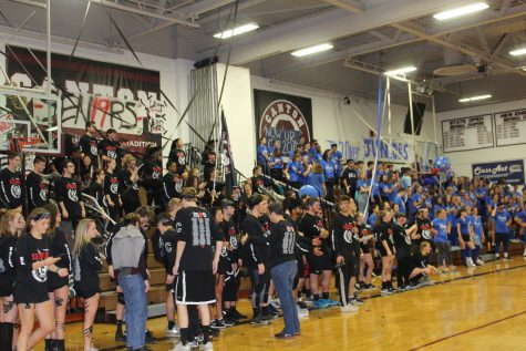 CHS students having fun on Game day. photograph by Maria Menoutis