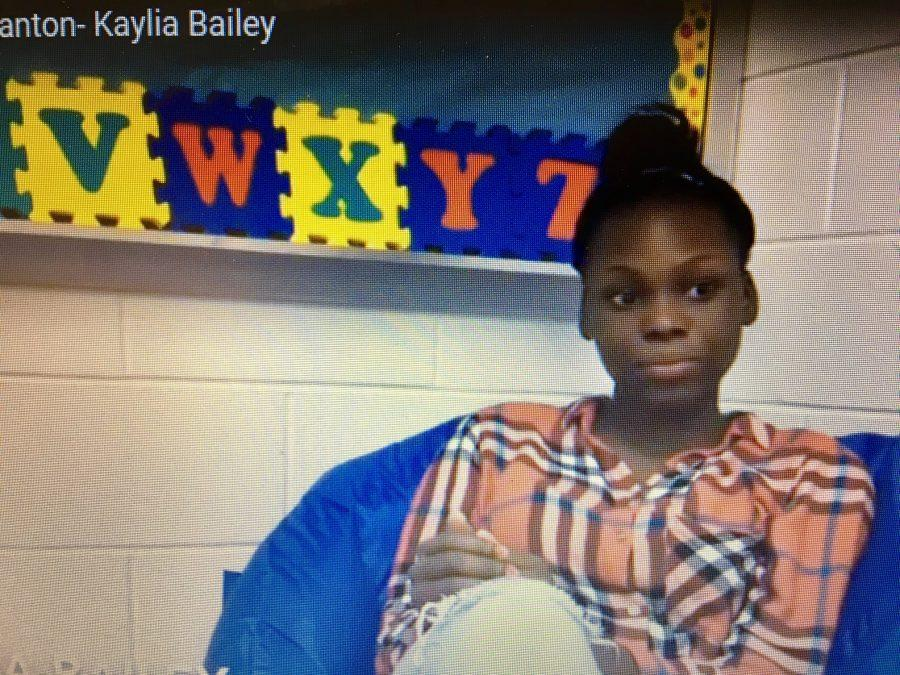 Kaylia Bailey reflects on her life as a student. Chris-Ann Brown/staff
