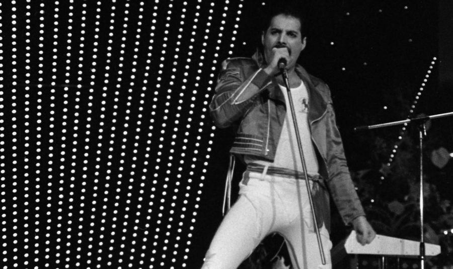 Freddie Mercury / photo via wikipedia/ labeled for reuse