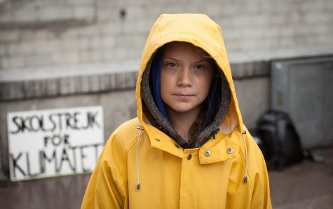 In August 2018, outside the Swedish parliament building, Greta Thunberg started a school strike for the climate. /Anders Hellberg via Wikimedia commons