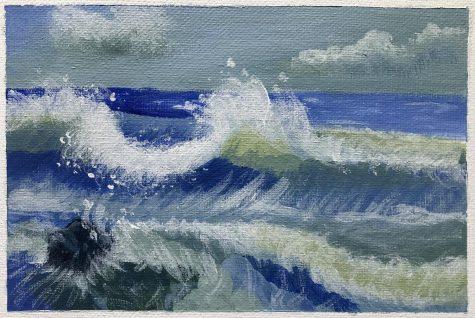 Serene Sea by Rachel Flink